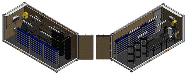 Parkerstore Onsite Container Reduces Downtime Southern